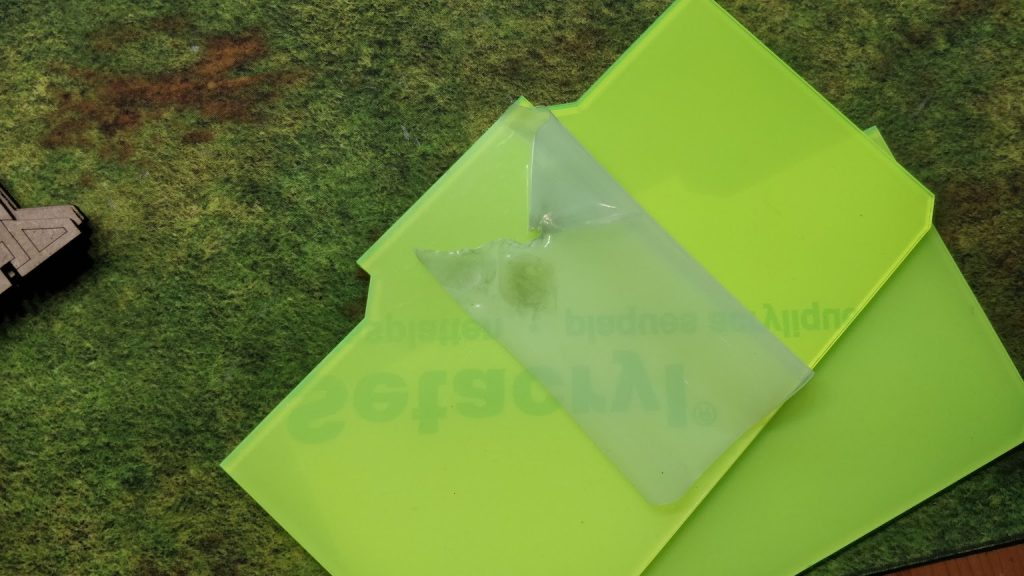 Peel Protective cover on first side