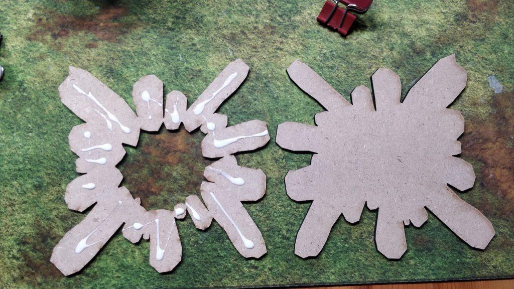 Crater glue