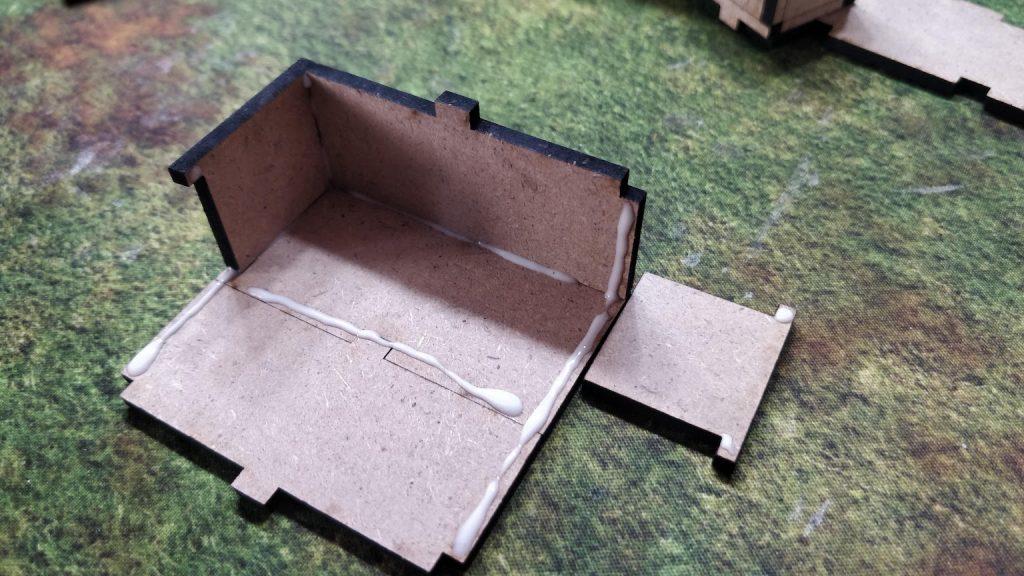 Fold up edges
